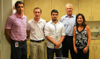 Picture of a group of interns